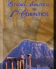 Estudio analítico de 1ª Corintios (Tapa dura, encuad. fina c/cover)
