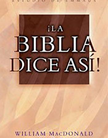 La Biblia dice así 1