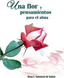 Una flor y pensamientos para el alma