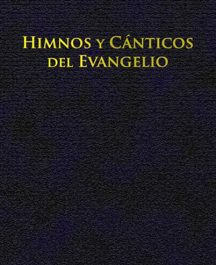 Himnos y cánticos del evangelio (Letra, tapa cartoné, encuadernación fina)