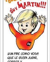 """Folleto/Historieta Evang. Niñez """"Martín"""" - (a 4 colores) (x millar)"""