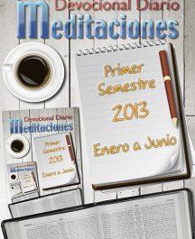 """Libro Devocional Diario """"Meditaciones"""""""