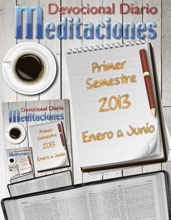 """Libro Devocional Diario """"Meditaciones"""" 1"""