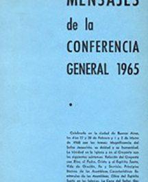 Mensajes de la Conferencia general 1965